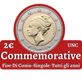 2€ commemorativi singoli