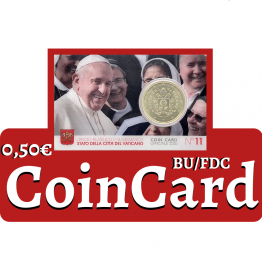 50 CENT COINCARD